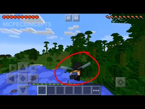 FLYING IN MINECRAFT PE 0.14.0 CONCEPT