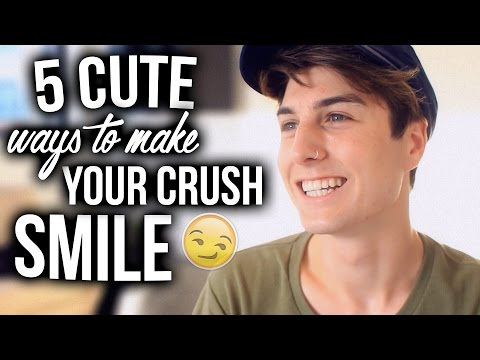 5 Cute Ways To Make Your Crush Smile! (Best Ways)