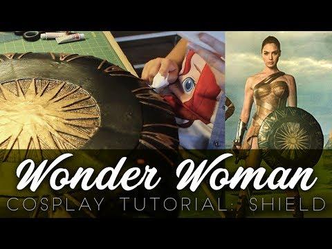 Wonder Woman Cosplay Tutorial: Shield