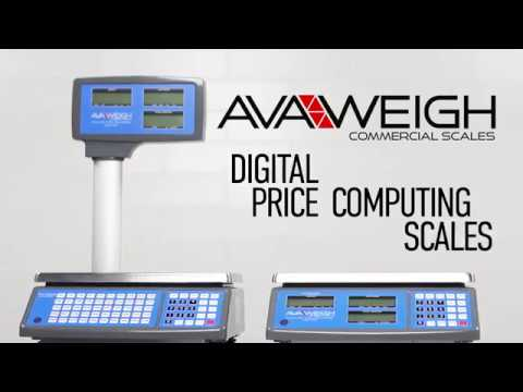 AvaWeigh Legal for Trade Digital Price Scales