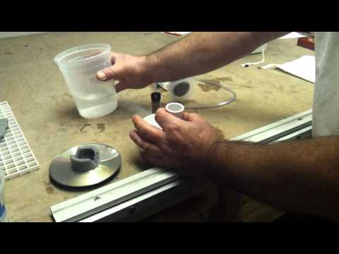 Demo DIY Brine Shrimp Hatchery/Egg Separator