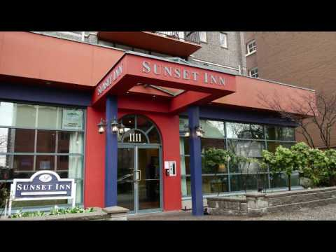 Sunset Inn & Suites Hotel in Downtown Vancouver