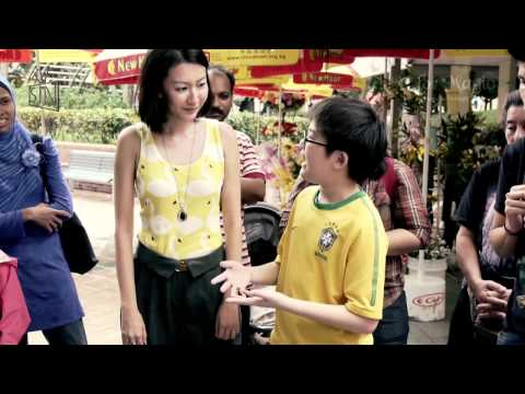 M for Magic Singapore S02E05: 13 year old Kim Ng sweeps Jacqueline Chow off her feet!