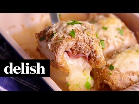 Chicken Cordon Bleu Roll Ups | Delish