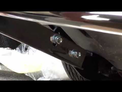 Honda CR V 2012 2015 Front Runner Bumper Guard Installation