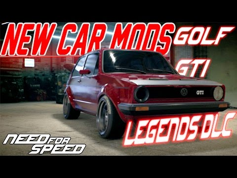 Need For Speed 2015 NEW CAR MODS : Volkswagen Golf GTI DRIFT BUILD - LEGENDS DLC