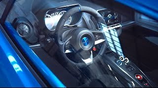 Alpine A110 INTERIOR Video REVIEW New 2017 Renault Alpine A110 INTERIOR Video 2018 CARJAM TV