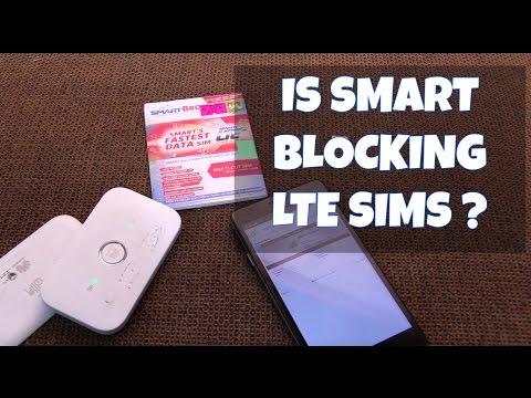 Are SmartBro blocking LTE Sims?