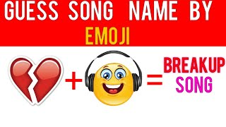 EMOJI CHALLENGE #2 Guess The Song By EMOJI | Guess The EMOJI Song