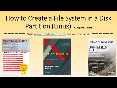 How to Create a File System in a Disk Partition in Linux
