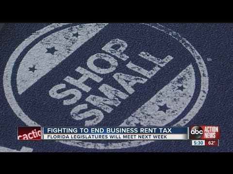 Florida chambers of commerce seek to end business tax