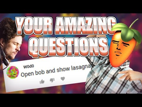 🤔🤔OPEN BOB AND SHOW LASAGNA🤔🤔 | Your Amazing Questions #1