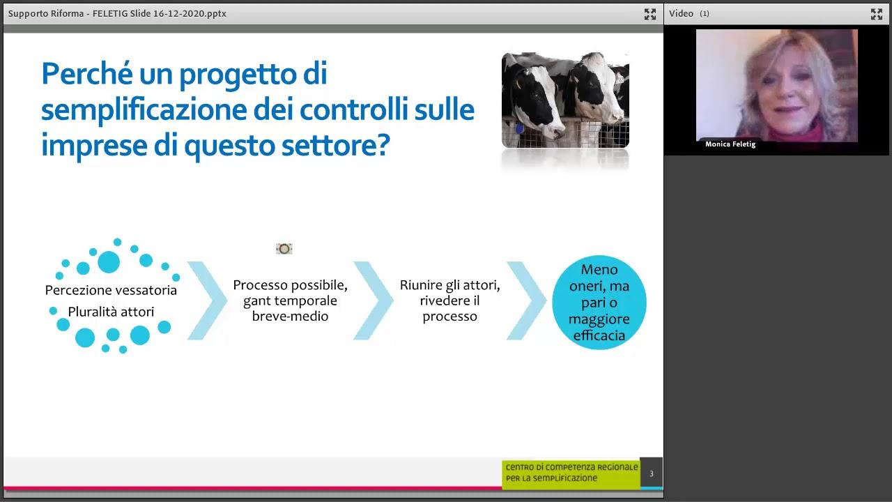 Rendere i controlli più semplici: il modello lattiero-caseario nella Regione Friuli-Venezia Giulia