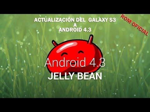 Cómo actualizar el Samsung Galaxy S3 | Oficial ✔