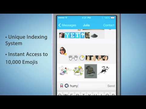 The Emgee Project: The 10,000 Emoji Library App