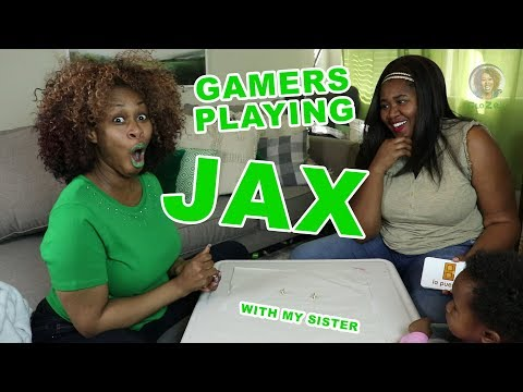 Gamers Playing JAX with my Sister - GloZell