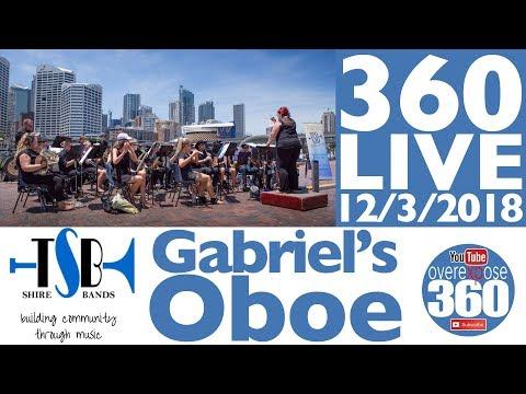 The Shire Band 360 Live Stream - 12/3/2018 - Gabriel's Oboe - 360 Video Live