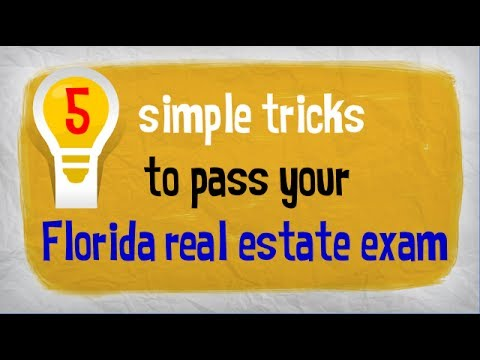 How to Pass The Florida Real Estate Exam -- 5 Tips From Larson Educational