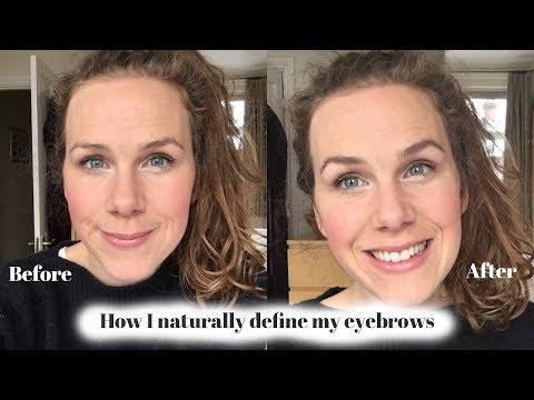 Defining my Eyebrows: Annemarie Borlind Eyebrow Crayon and Dr Hauschka Brow Gel Review
