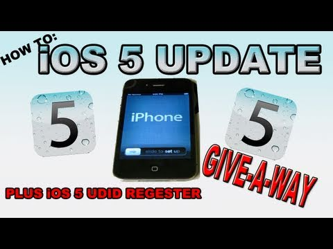 HOW TO: Set Up iOS 5 from iOS 4