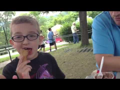 Ben and Jerry Factory Tour Ice Cream Break