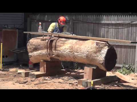 ZCI Woodworks: Cutting Logs for Live Edge Furniture