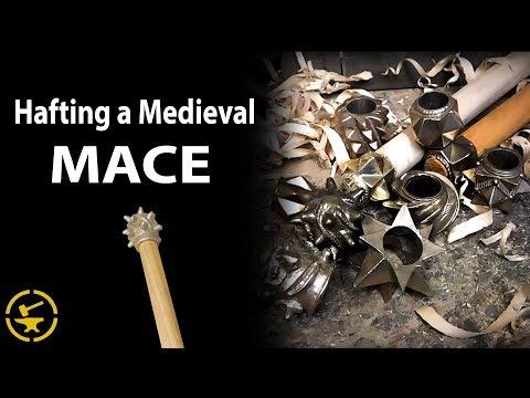 Hafting a Medieval MACE HEAD