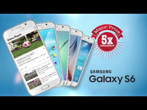 Vodafone Fiji Fact 2015 Promotion