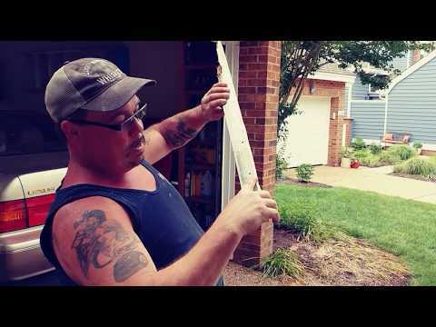 How to repair a rotted window sill