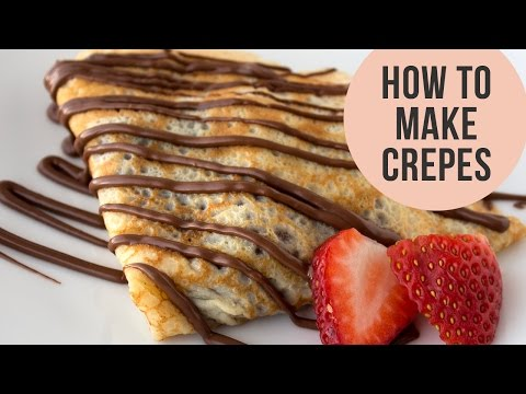 How to Make Crepes | Valentine's Day Recipe