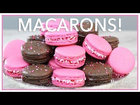 Vanilla & Chocolate Macarons   Renee Conner