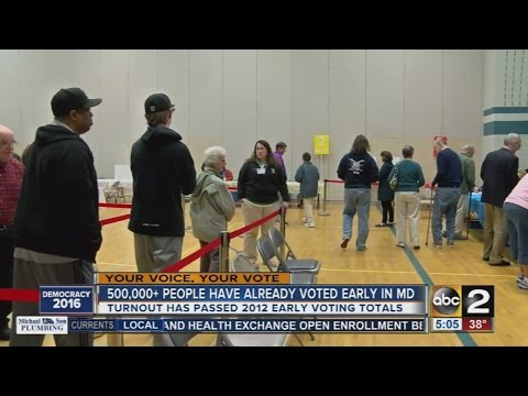 Early voters continue to set early voting records