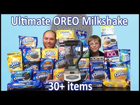 Ultimate Oreo Milkshake : 30+ items!! : Crude Brothers