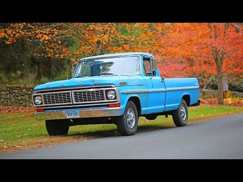 Ford F-100 pickup truck 1970 review