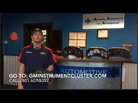2004 Chevy Tahoe Instrument Cluster Removal
