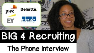 INTERNSHIP EXPERIENCE WITH BIG FOUR ACCOUNTING FIRMS | BIG 4