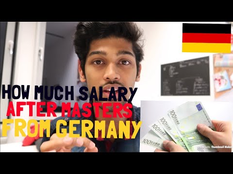 HOW MUCH YOU WILL EARN AFTER YOUR MASTERS FROM BERLIN, GERMANY? Cal. the cost of living in REALTIME