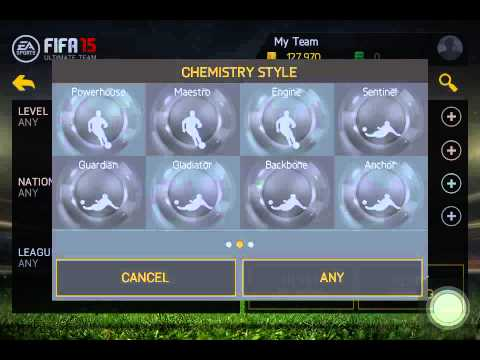 Fifa 15 ios Trading to Hazard