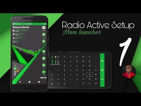 Radioactive Best Nova Setup #1 (Nova Launcher/Kustom)