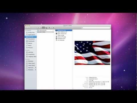 Mac Lesson #7 - Finder List View