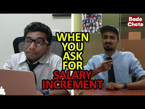When You Ask For Salary Increment || Bade Chote Videos