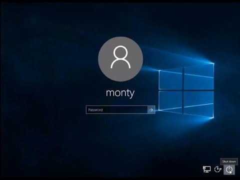 How To Remove Power Button From Windows Lock Screen
