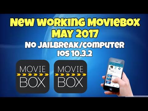 New Install Working MovieBox May 2017 NO Jailbreak NO Computer iOS 10.3.2