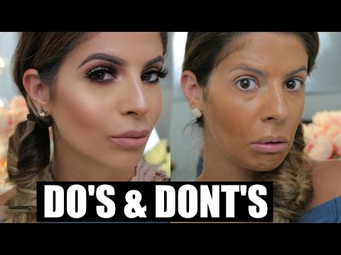 Makeup DO'S and DONTS | Foundation & Primer  | Laura Lee