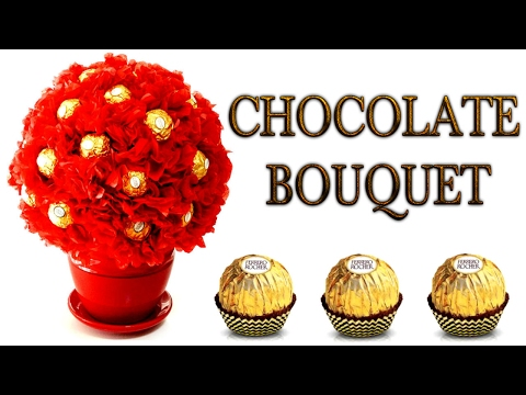 DIY CHOCOLATE BOUQUET! Easy Diy Gift Idea For Anyone on Any Occasion! Customizable too!