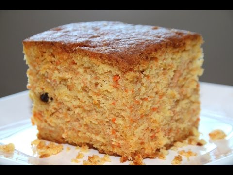 carrot cake recipe/soft & moist -- Cooking A Dream