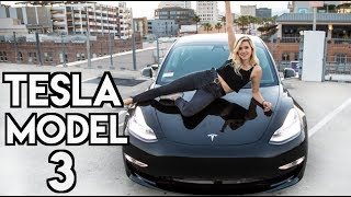 Download GETTING MY NEW CAR! (Tesla Model 3 Delivery Day) Video