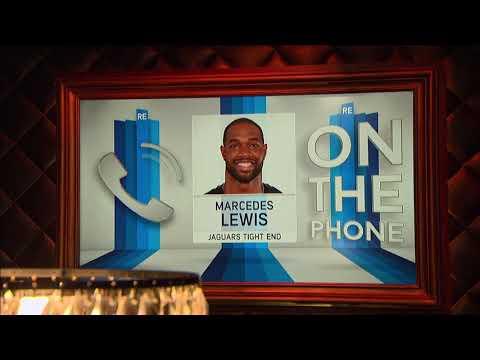 Jacksonville Jaguars TE Marcedes Lewis Talks Blake Bortles & Team Culture Change - 9/26/17