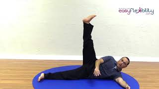 Side Split Stretching Retention With Antagonist Short Length