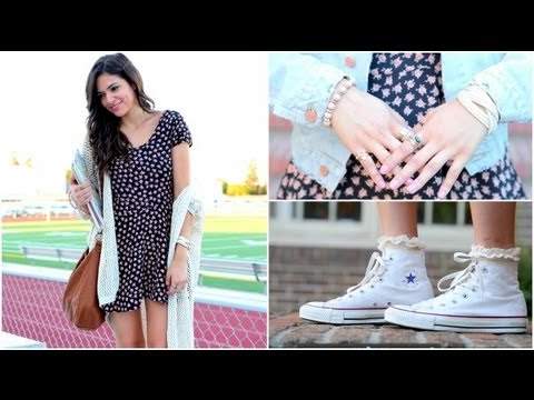 Perfect Back to School Hair, Makeup & Outfit!